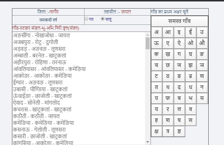 select village for khatoni