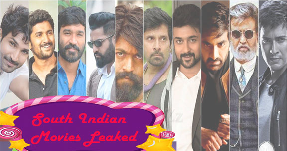 south indian movies leaked